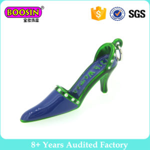 Enamel High-Heeled Shoes Pendant Charms for Women Girls pictures & photos