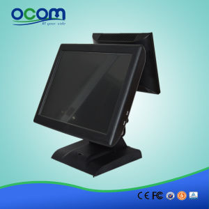 """15"""" Dual Screen All in One Cash Register POS System pictures & photos"""
