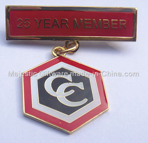 Customized Zinc Die Cast Pin Dangler pictures & photos