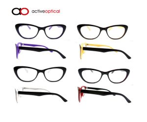 Wholesale Latest Design Bifocal Cheap Reading Glasses with Case (yf15164)