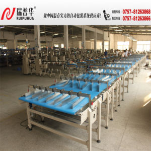 Cake/Swiss Roll Multi-Line Packing Machine pictures & photos