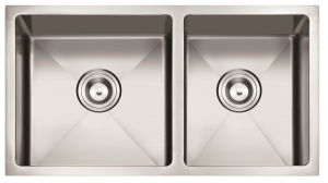 "American Standard 3219 / 32""X19"" 60/40 Hand Made Undermount Stainless Steel Sink Double Bowl Kitchen Sink Cupc pictures & photos"