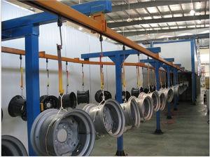 Electrostatic Powder Coating Line for Aluminum Wheel pictures & photos