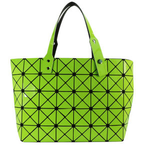 Fashion Magic Cube Green PU Tote Bag for Women Cosmetics pictures & photos