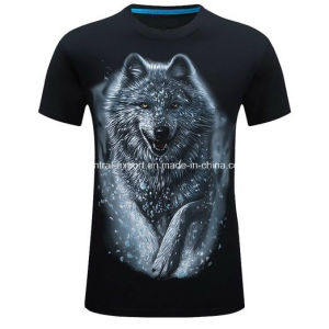 New Style Fashion 3D Printed Men T-Shirt pictures & photos