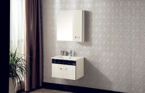 Wall-Mounted Modern Cabinet Series Multi-Layer Solid Wood Bathroom Cabinet pictures & photos