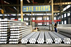 Aluminium/Alminum Alloy Round/Rod Extruded Billets pictures & photos