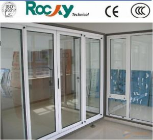High Quality Aluminum Glass Swing Door pictures & photos