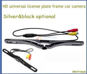 High Quality Metal Housing HD Universal License Plate Car Reversing Vehicle Camera