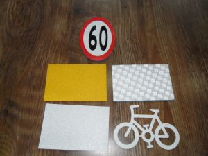 3m Pavement Thermoplastic Glass Beads Adhesive Tape pictures & photos