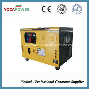 Electric Start 10kVA Single Phase Silent Diesel Generator pictures & photos