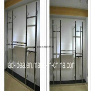 Wall-Mount Garment Display/Clothes Rack/Exhibition for Garment (Ad-130702) pictures & photos