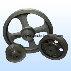 OEM Steel Die Casting/Forging Belt Pulley for Textile Machinery pictures & photos