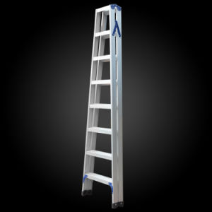 7 Step Double Folding Agility Aluminum Household Ladder pictures & photos