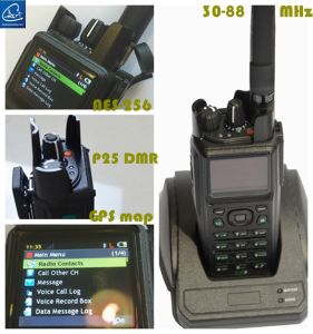37-50MHz Two Way Radio with Powerful Digital Function for Military Denfense pictures & photos