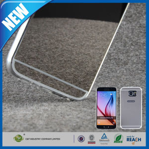 Ultra-Thin Mirror Soft TPU Case Cover for Samsung Galaxy S6 pictures & photos