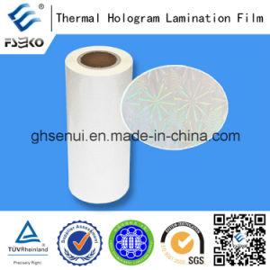 Hologram Laminating Film with EVA Glue-Laser Thermal Laminating Film (30mic) pictures & photos