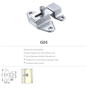 High Quality Stainless Steel Hardware Decorative Accessories Precision Casting Plug pictures & photos