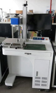 10W 20W Fiber Laser Marking Machine for Sale Metal Laser Engraving Machinery for iPhone6 pictures & photos
