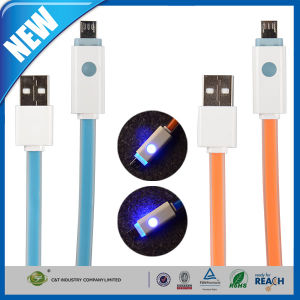 LED Light Micro USB Sync Data Charging Charger Cable pictures & photos