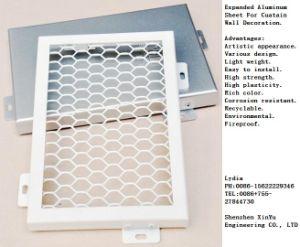 Expanded Aluminum/ Aluminium Sheet for Curtain Wall Decoration