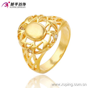 13655 Fashion CZ 24k Gold-Plated Women Imitation Jewelry Finger Ring pictures & photos