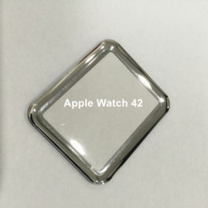 3D Curved Hot Bending Full Cover Tempered Glass Screen Protector for Apple Watch 42mm pictures & photos
