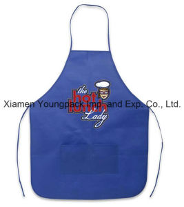 Customized Royal Blue Reusable Promotional TNT Cooking School Class Apron pictures & photos