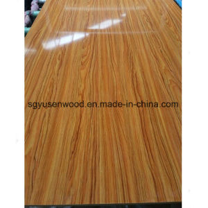 2017 Hot Sale High Gloss Melamine Laminated UV Faced MDF Board pictures & photos