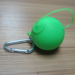 New Design Round Teapot Shape Portable Silicone Ashtray pictures & photos