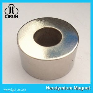 China Rare Earth Sintered Cylinder Ring NdFeB Magnet pictures & photos
