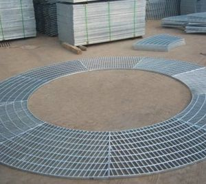 Round Shape Steel Grating for Expo Stage pictures & photos
