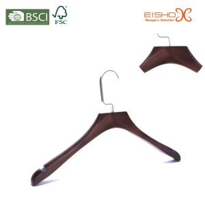 Distressed Deluxe Wood Hanger for Brand Clothes (MC073) pictures & photos