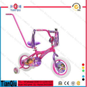 2016 Pink Princess Girls 4 Wheel Bicycle 12 14 16 20 Cheap Purple Kids Bike Children Bicycle Sale pictures & photos