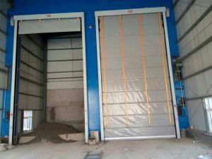 Automatic Stacking High Speed Door with SGS, ISO9001and Ce Approved pictures & photos