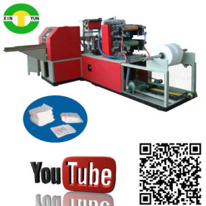 High Speed Full Auto Colored Serviette Paper Machine Price pictures & photos