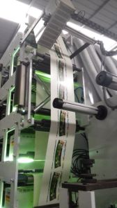 Flexo Printing Machine 6 Color UV+IR Narrow Web Film Label pictures & photos