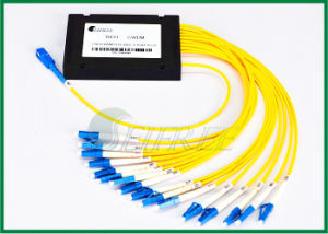 16CH Wavelength Mux / Demux Passive CWDM Multiplexer pictures & photos