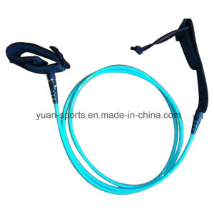 5.5mm 8mm 10′ Light Blue Surfboard Leash pictures & photos