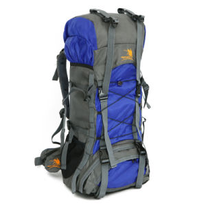 60L Big Volume Waterproof Nylon Outdoor Sports Backpack Bag (YKY7289) pictures & photos