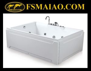 Modern Design Two Seats Acrylic Massage Bathtub (BA-8706) pictures & photos