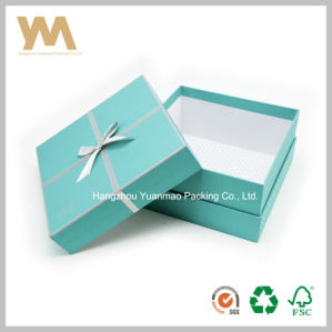 High Quality Customized Gift Packaging Box Art Paper with Lining pictures & photos