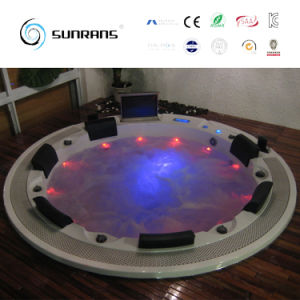 2017 Europe Hot Sale New Design Round Hot Tub SPA Manufacturer (SR831) pictures & photos