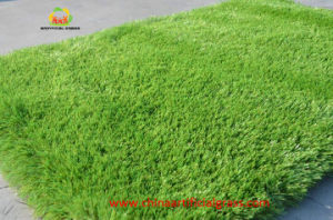 Plastic Cheap Green Lawn Carpet for Landscape pictures & photos