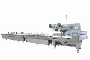 Automatic Chocolate Alignment & Flow Wrapping Machine (FND-F3000)