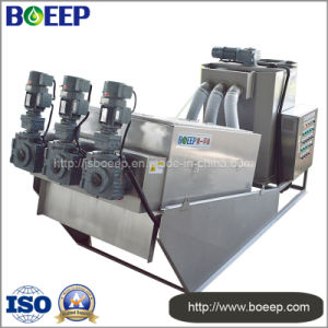 Screw Sludge Dewatering Unit for Brewery Sewage Treatment pictures & photos