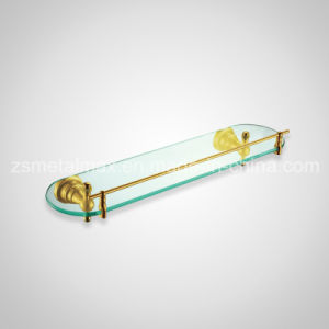 Stainless Steel Bathroom Wall Mounted Glass Shelf (BLJ003) pictures & photos