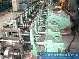 Galvanized Stainsteel Aluminum Vci Support C Channel Roll Forming Machine Thailand pictures & photos