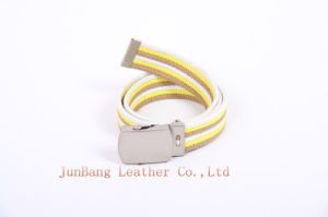 Customized Hot Sale Unisex Fabric Spun Polyester Webbing Belt pictures & photos