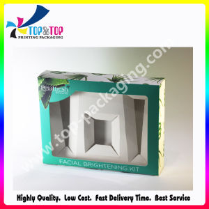 New Arrival Folding Perfume Cardboard Box with PVC Window pictures & photos
